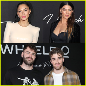 The Chainsmokers Join Nicole Scherzinger & Jessica Szohr at Wheels Launch in LA