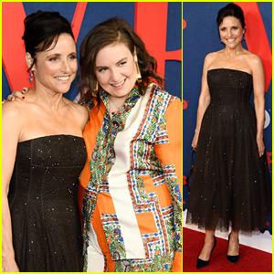 Julia Louis-Dreyfus Premieres Final Season of 'Veep' with Lena Dunham's Help!