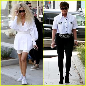 Khloe Kardashian & Kris Jenner Go Shopping After the Premiere of 'KUWTK' Season 16 Trailer