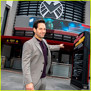 Paul Rudd Travels to Hong Kong to Check Out 'Ant-Man & The Wasp' Ride!
