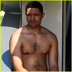 Trevor Noah Goes Shirtless on Yacht in Miami!