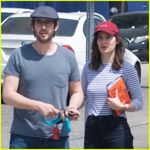 Josh Groban & Girlfriend Schuyler Helford Head to Lunch in L.A.