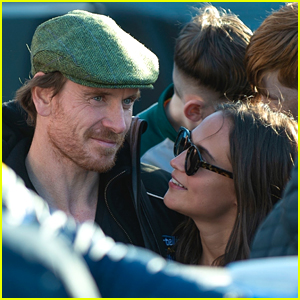 Michael Fassbender & Alicia Vikander Look So Cute Together in Ireland