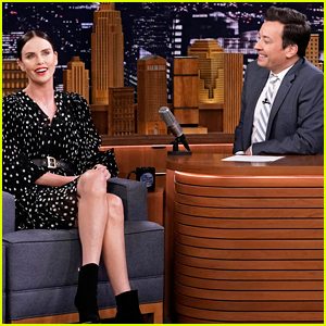 Charlize Theron & Jimmy Fallon Team Up for Fun Game of 'Catchphrase' - Watch Now!