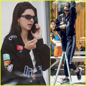 Kendall Jenner Goes Sporty for Lunch in WeHo