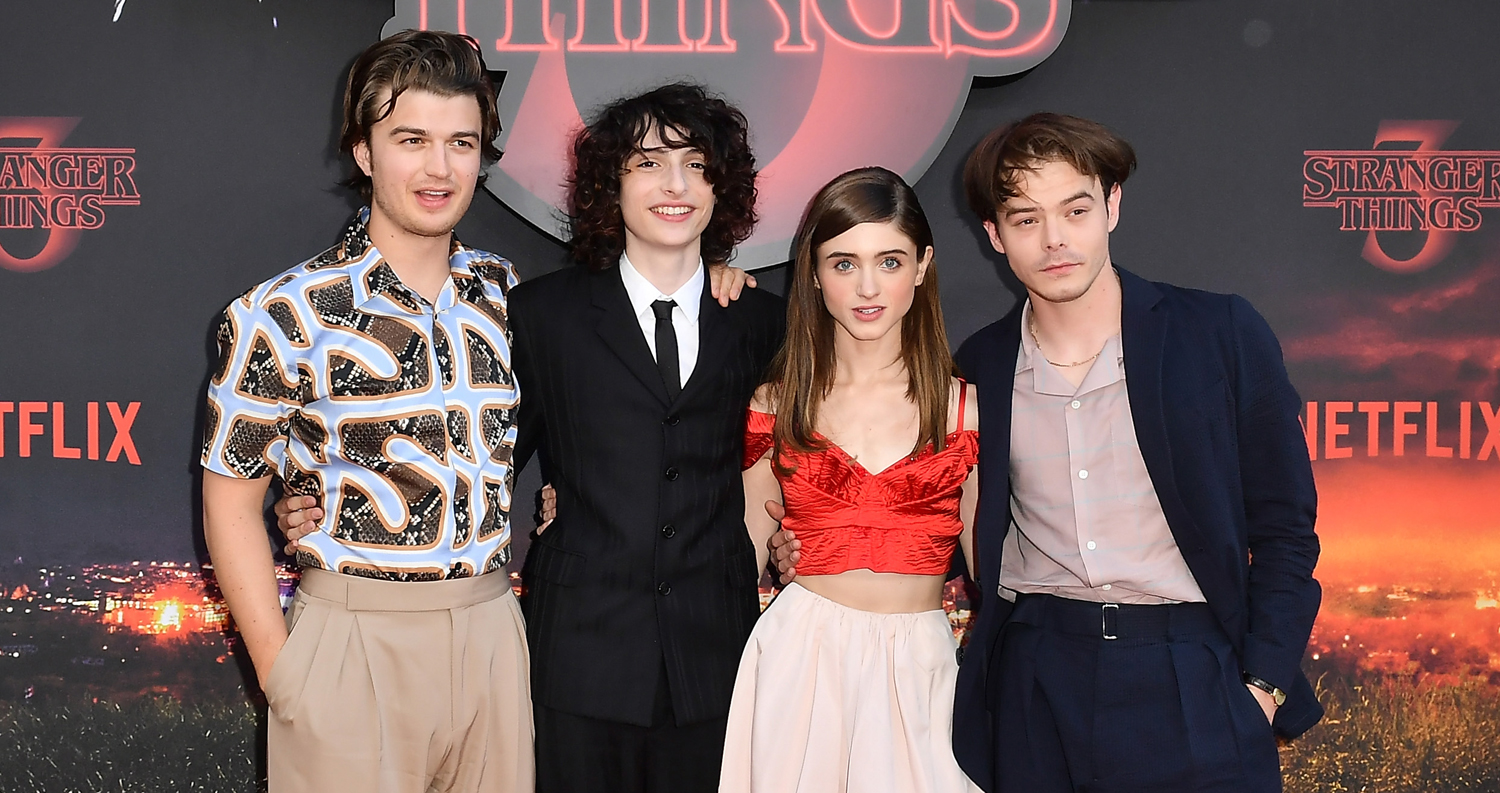 Stranger Things Stars Step Out For Paris Red Carpet Premiere