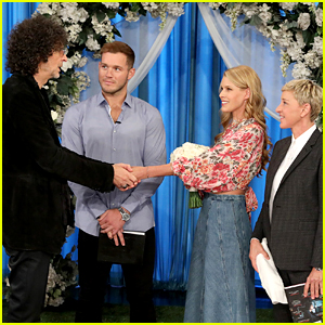 Howard Stern Remarries Wife Beth... with Colton Underwood's Help on Ellen's Show!