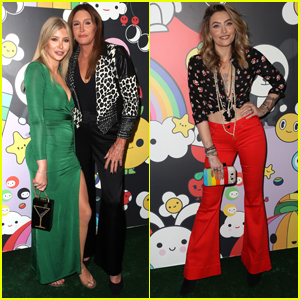Caitlyn Jenner & Sophia Hutchins Show Their Support at alice + olivia Launch Party