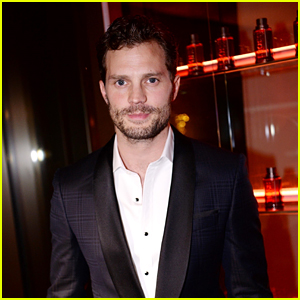 Jamie Dornan Celebrates Hugo Boss' New Scent in Paris