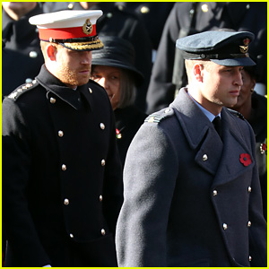 Prince Harry Wore His Remembrance Poppy Differently For This Reason