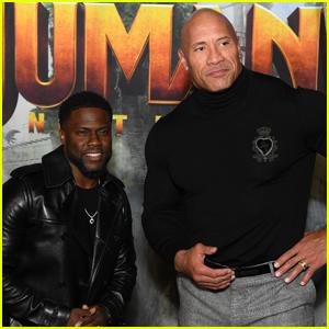 Kevin Hart & Dwayne Johnson Bring 'Jumanji: Next Level' to Paris!