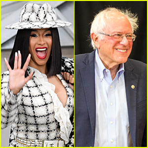 Cardi B Gets Bernie Sanders' Support After She Talks About Running For Congress