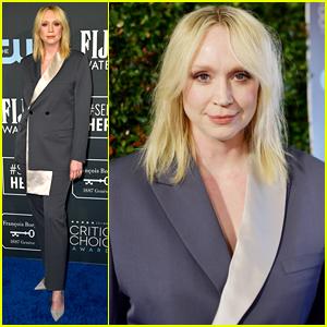 Gwendoline Christie Rocks a Dior Men's Suit at Critics' Choice Awards 2020