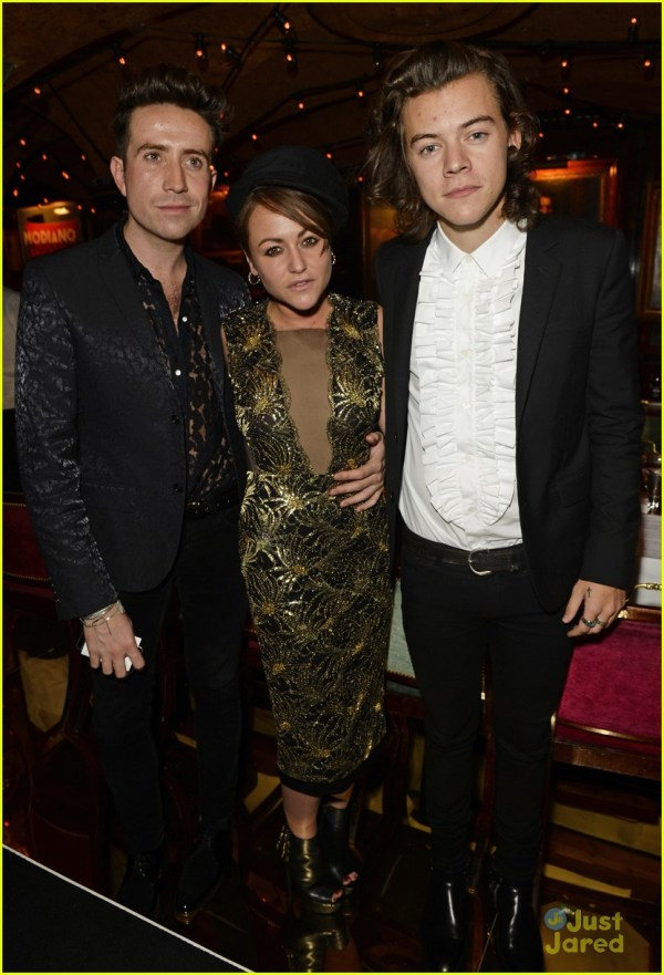 Harry Styles Hangs with Suki Waterhouse at Annabel's Event ...