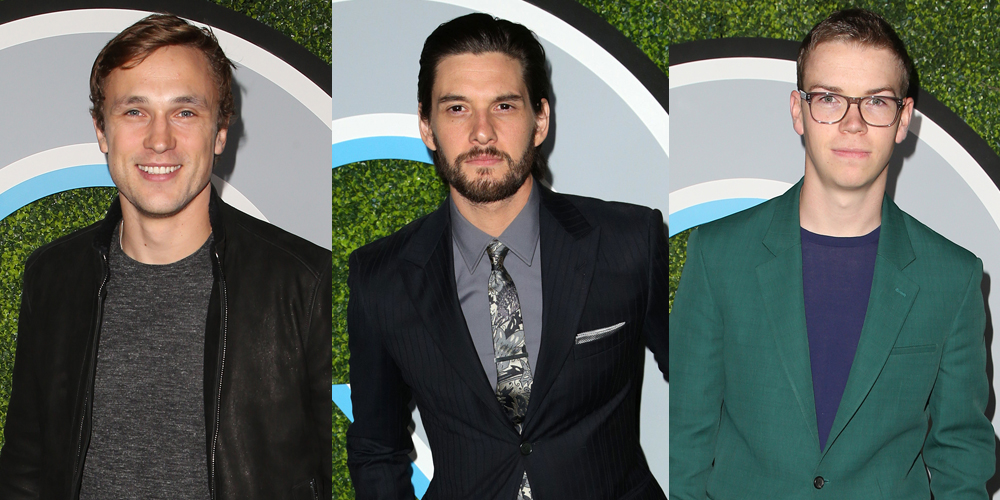Chronicles Of Narnia's Will Poulter, Ben Barnes & William