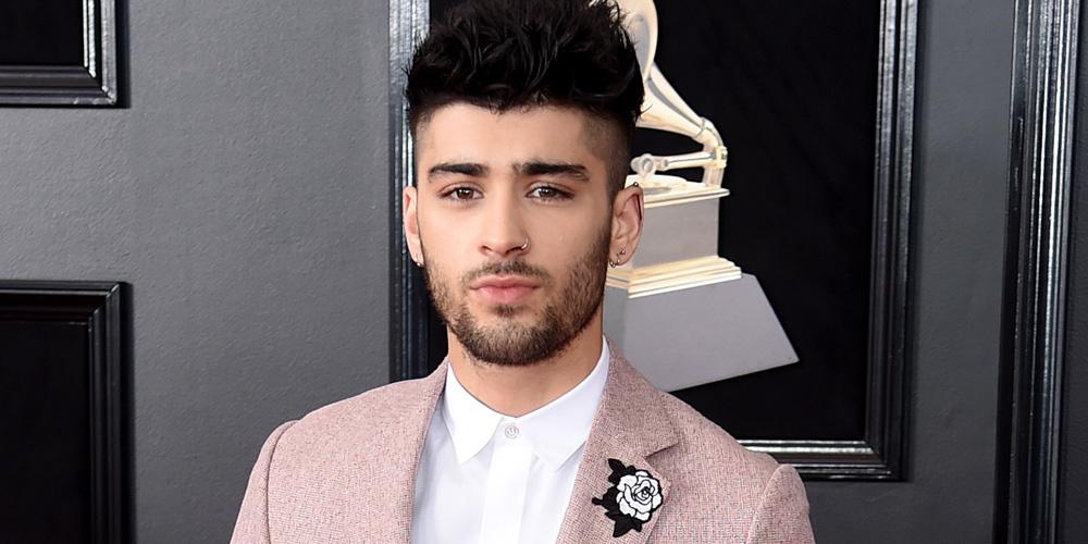 Zayn Malik Rocks Pink Suit For Grammys 2018 2018 Grammys