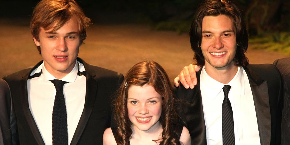 Narnia Stars Georgie Henley, William Moseley & Ben Barnes