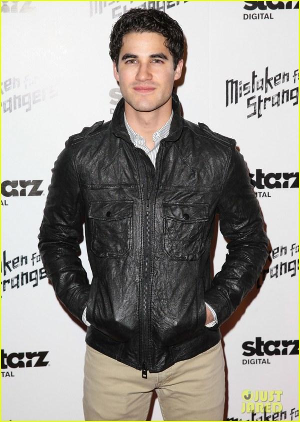 Darren Criss Steps Out For 'Mistaken For Strangers ...