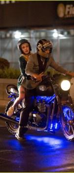Emma Roberts et Dave Franco sur le tournage d'Addict