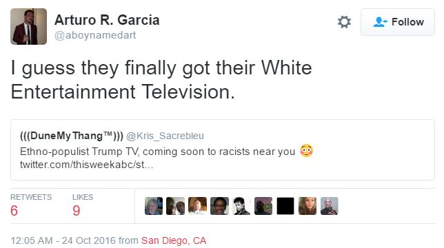 Snopes writer shows how he feels about Donald Trump supporters (Screenshot/Twtter)