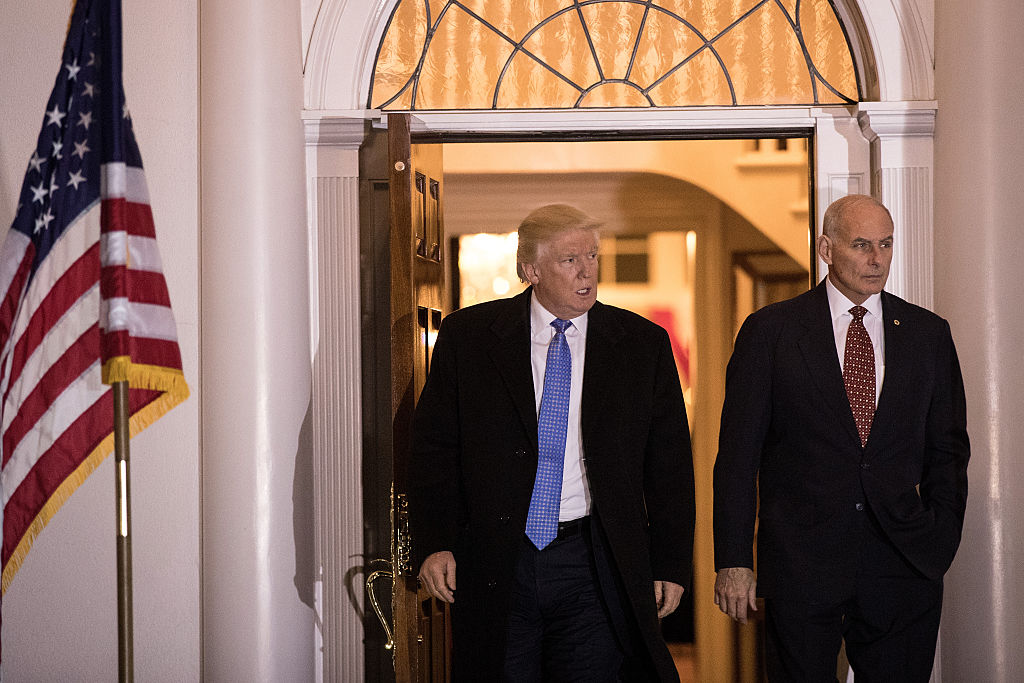 Image result for President Donald Trump risks reviving the strife and turf battles that characterised his West Wing before Chief of Staff John Kelly's arrival after announcing last Saturday (Dec 8) that the retired Marine general would depart by the end of the year. Mr Kelly's authority, drawn from more than 40 years in the military, helped him tamp down infighting that broke out between factions of Mr Trump's administration almost from the day he took office.