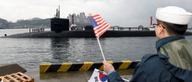 Kim Jong Un Threatens To Turn US Nuclear Sub Into An 'Underwater Ghost'