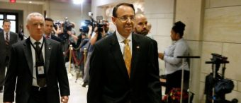 Russia Probe May Expand To Include Sessions, Rosenstein