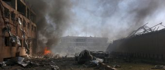 Video Emerges Of Kabul Truck Bomb That Killed, Wounded Hundreds [VIDEO]