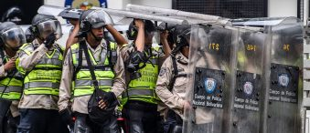 Venezuelan Police Tired Of Fighting Starving Citizens To Protect Socialist Dictator