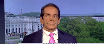 Krauthammer Completely Destroyed The Clintons In Just One Answer
