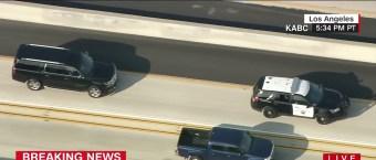 Comey Motorcade Stalked By News Choppers Like OJ Simpson [VIDEO]