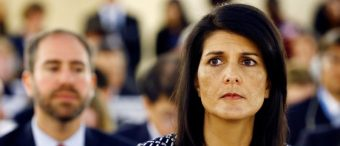 Palestinian Official Accuses Nikki Haley Of 'One Woman Crusade' Against Palestine