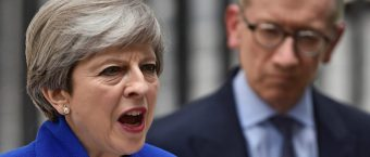Theresa May Vows Brexit Will Go On