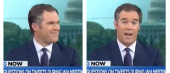 MSNBC Host Cracks Up When Hot Mic Catches Reporters Fighting In Oval Office -- 'S**t Was Nuts!' [VIDEO]