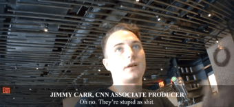 Another CNN Producer Caught On Camera, Says American Voters Are 'Stupid As Sh-t'