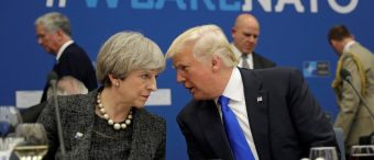 Phone Call Between Trump And PM May Leaked