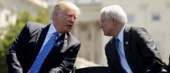 Trump Lets Sessions Know He's Out Of The Dog House