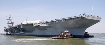Navy's Latest Aircraft Carrier Will Need $780 Million And Years Of Work To Be Sea Ready