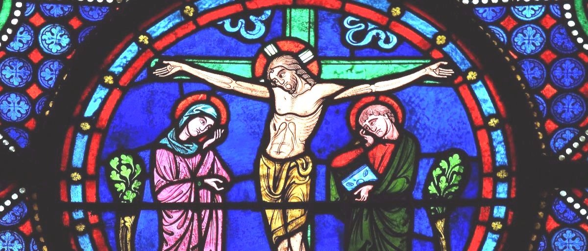 Jesus on the cross Shutterstock/jorisvo