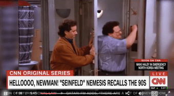 As CNN's PR Nightmare Peaks, The Network Brings On Seinfeld's 'Newman' [VIDEO]