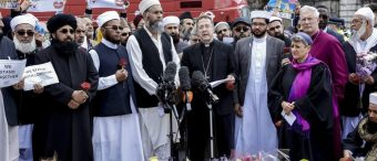 Muslim Leaders March Throughout Europe In Protest Of Islamic Terrorism
