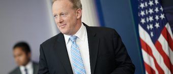 Sean Spicer Celebrates His Last night At The White House [PHOTO]