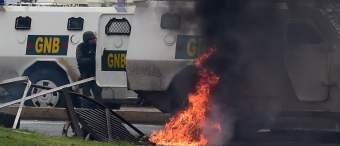 Bad Old Days: Venezuela Slides To Civil War As Trump Ratchets Up Pressure