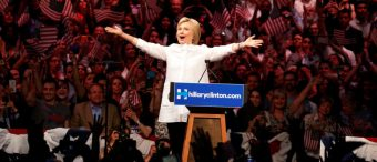 Hillary Says Her Election Afterparty Felt Like An 'Irish Wake'