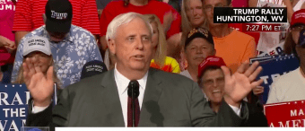 'It's Time To Run Another Play'--WV Governor Announces He Is Switching Parties