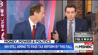 MSNBC Guest Cites Wrong State While Slamming Tax Reform [VIDEO]