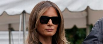 Melania Looks Ready To Work During Visit With Hurricane Victims [PHOTOS]