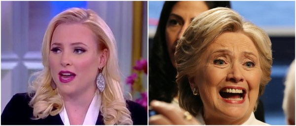 'So Turned Off' – Meghan McCain Unloads On Hillary And The ...