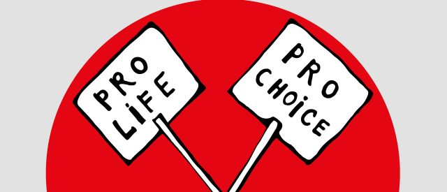 Two signs about abortion (Shutterstock/Sauleshechka)   Mississippi First State 15 Week Ban