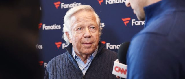 MINNEAPOLIS, MN - FEBRUARY 03:  New England Patriots owner Robert Kraft at the Fanatics Super Bowl Party on February 3, 2018 in Minneapolis, Minnesota.  (Photo by Michael Loccisano/Getty Images for Fanatics)